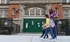 Public schools in New York will close on Thursday after the city reached the 3% positivity seven-day average threshold.