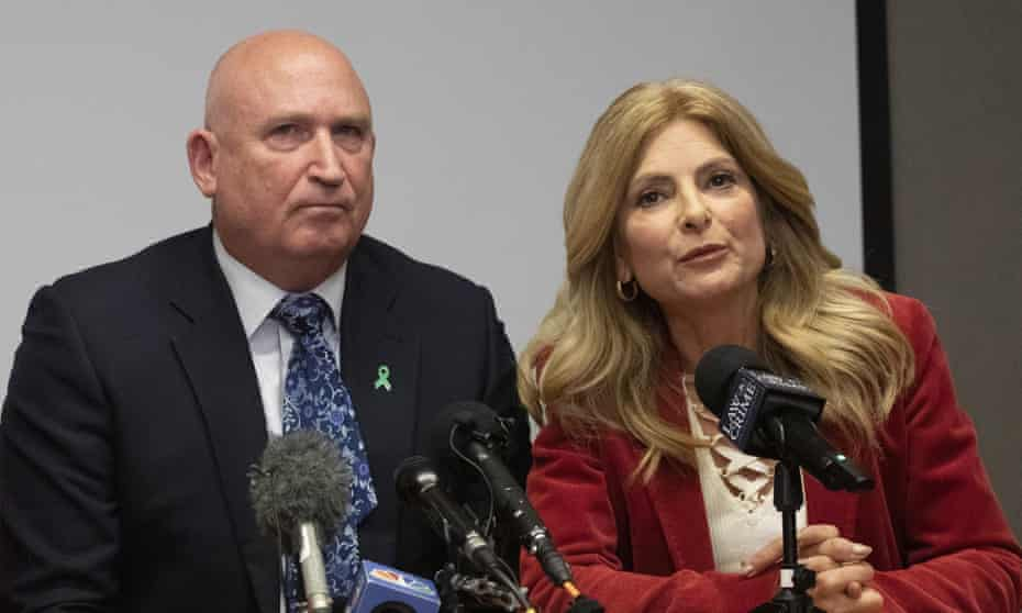 Radd Sieger, a spokesperson for Harry Dunn's family, and Lisa Bloom, who represents six alleged victims of Jeffrey Epstein
