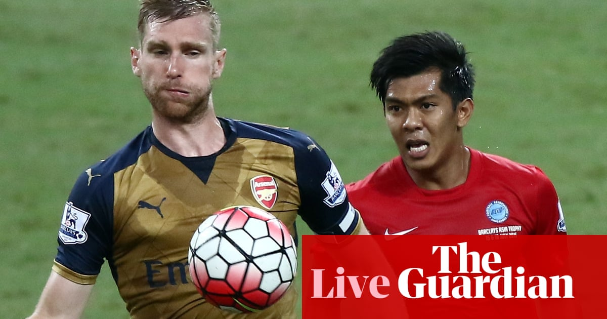 53e44bf49e9 Arsenal 4-0 Singapore Select XI  Asia Trophy – as it happened ...