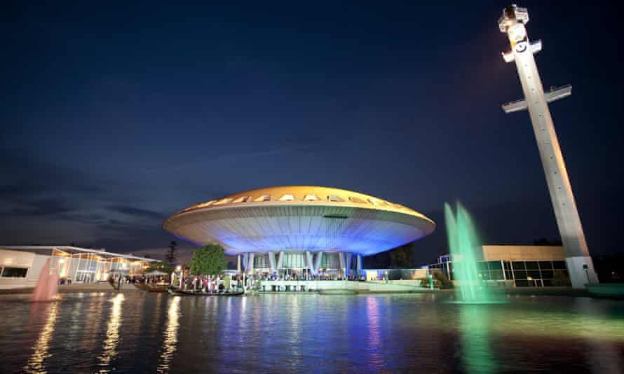 The Evoluon, a former science museum built by Philips in Eindhoven in 1964-66