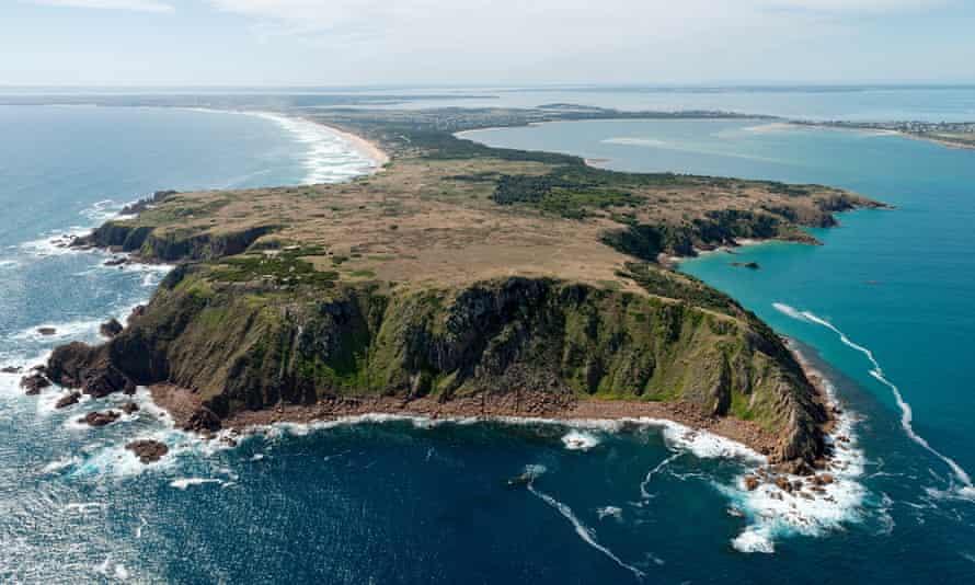 Cape Woolamai on Phillip Island.