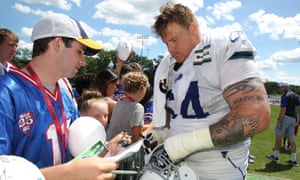 Richie Incognito during his time with the Buffalo Bills. He left the team in the 2017 season, and has not played in the NFL since
