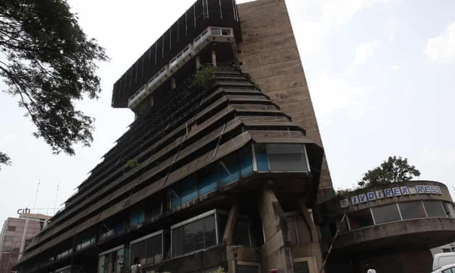 The Pyramid building in the heart of the city has fallen into disrepair.
