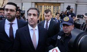 Trump's longtime personal lawyer, Michael Cohen.