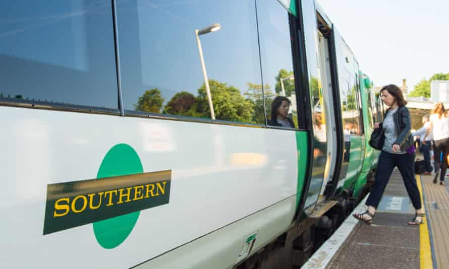 A Southern train.