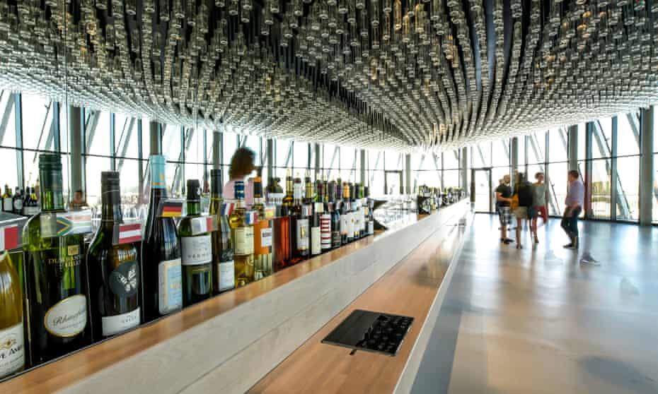 Le belvédère, La Cité du Vin, Bordeaux, France