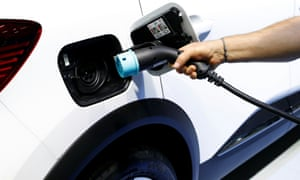 Plug-in hybrid cars allow firms to cut emissions but retain use of existing factories.
