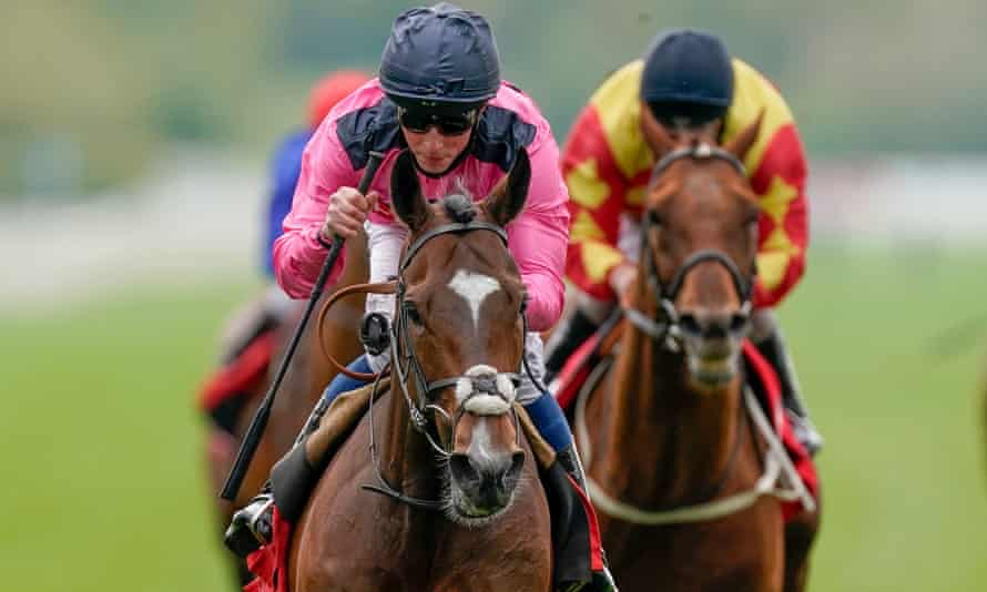 Spanish Mission, ridden by William Buick, pictured winning the Yorkshire Cup.