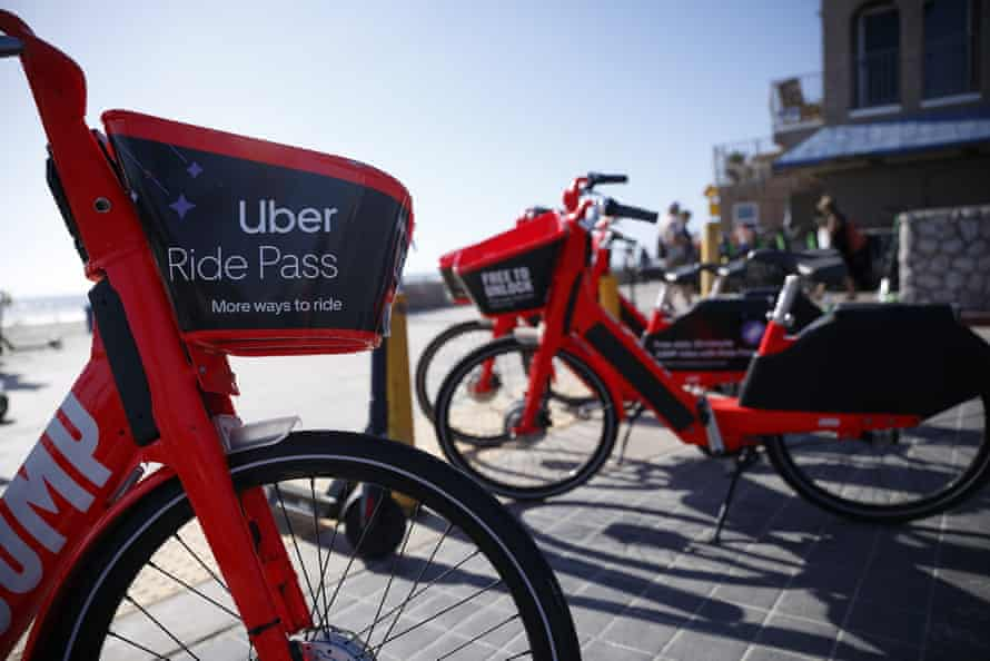 Uber and its subsidiary Jump, which operates electric scooter and bike rentals, have threatened to sue Los Angeles over the city demanding they share riders' data.