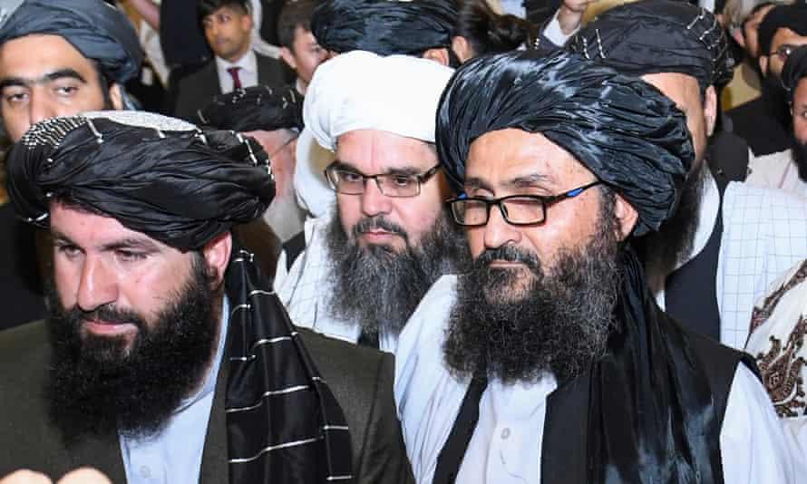 Abdul Ghani Baradar, the head of the Taliban's political office.