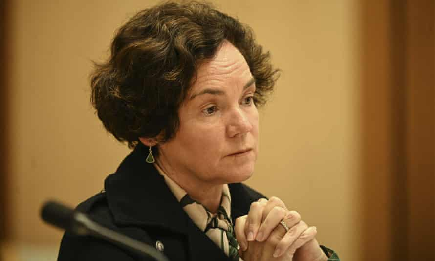 Department of Social Services secretary Kathryn Campbell