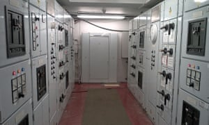 Buckingham Palace's 28-year-old trade yard electrical panel