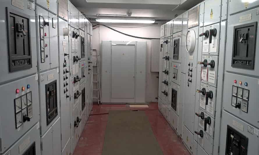 Buckingham Palace's 28-year-old trade yard electrical panel