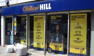 A William Hill branch as betting shops reopened in June