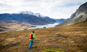 Brilliant scenery makes running in Norway a joy.