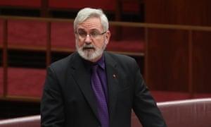 Andrew Bartlett in the Senate