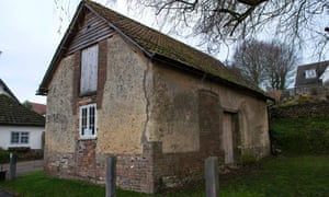 The Grade II*-listed barn in Tolpuddle, Dorset