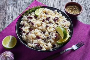 A simple version of rice and peas