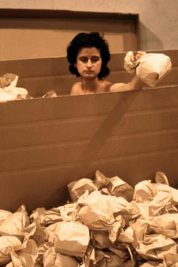 brown paper (2001) by Katthy Cavaliere.