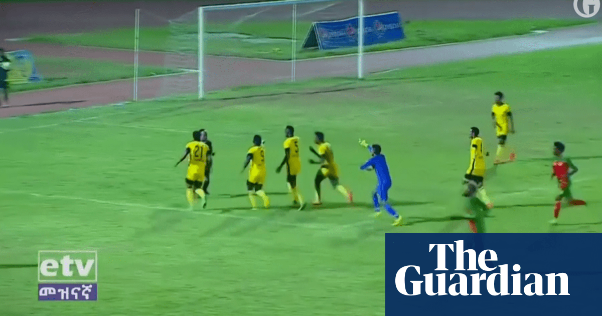Referee Attacked By Players In The Ethiopian Premier League Video Football The Guardian