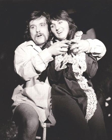 John Faulkner & Sandra Kerr.