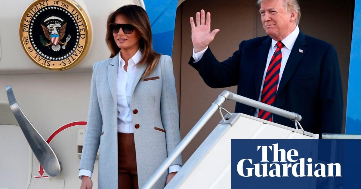 Trump arrives to meet Putin, leaving the UK reeling in his wake