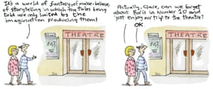 Clare goes to the theatre