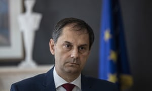 Harry Theoharis, Greek Minister of Tourism
