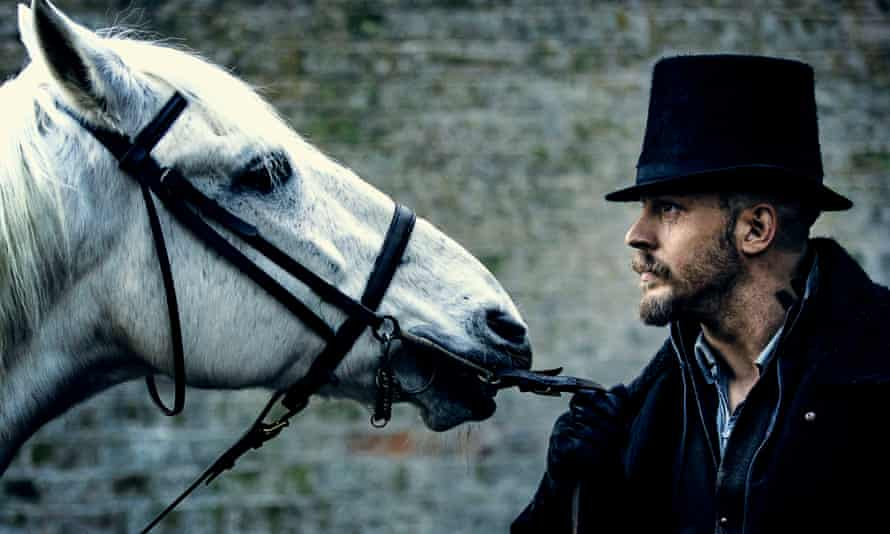 Tom Hardy ... the horse cost extra.