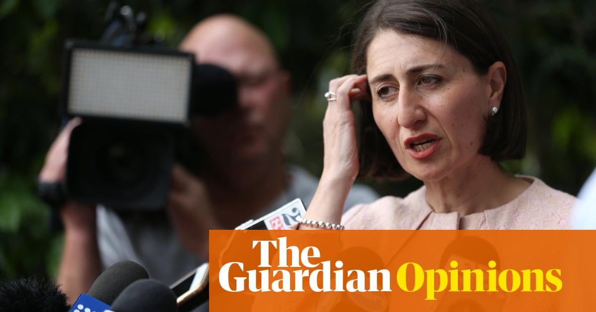 I have no advice for Gladys Berejiklian but I do have some