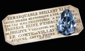 The Farnese Blue.