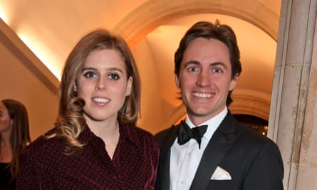 Princess Beatrice and Edoardo Mapelli Mozzi, pictured last year, married at private chapel at Windsor.