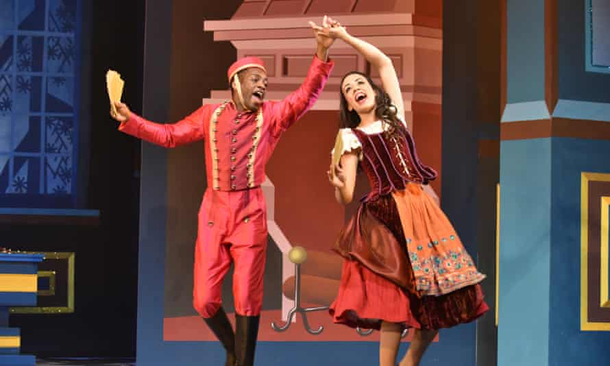 Tim Frater and Kelly Agredo in Cinderella.