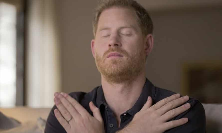 Prince Harry undergoing EMDR therapy