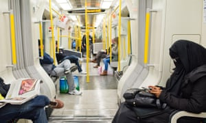 London's tubes are rarely the chattiest of places