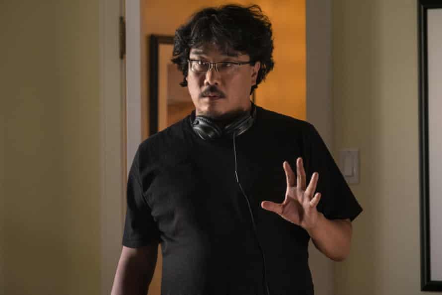 Bong Joon Ho directing Okja