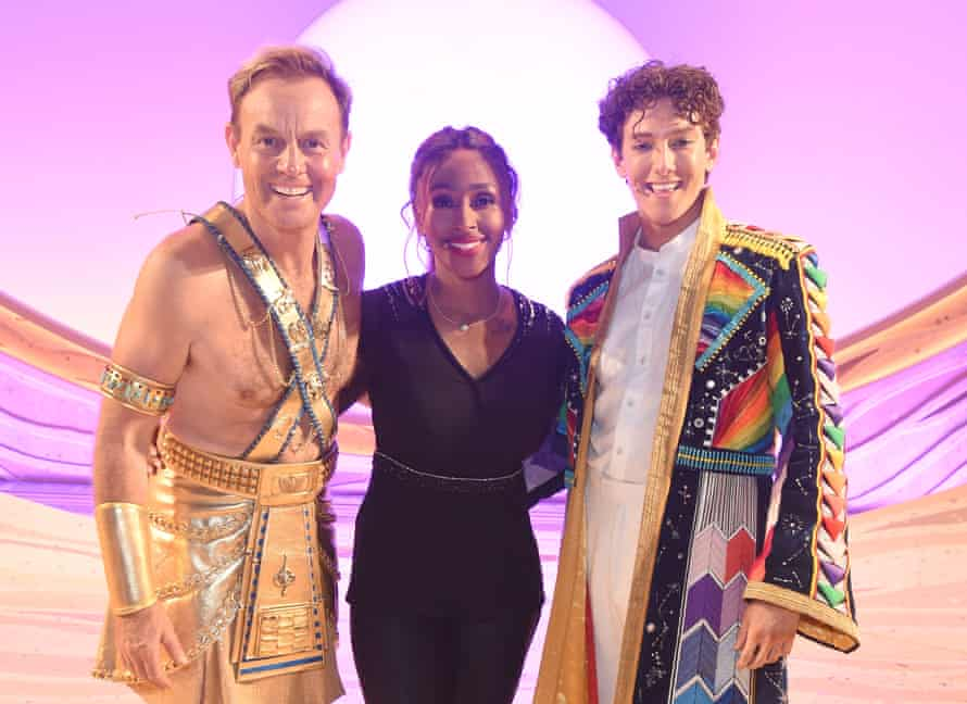 Burke stars in Joseph and the Amazing Technicolor Dreamcoat with Jason Donovan and Jac Yarrow