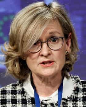 Mairead McGuinness, the EU's finance chief.