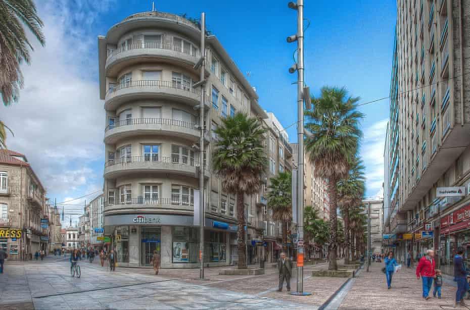 Pontevedra after the changes.