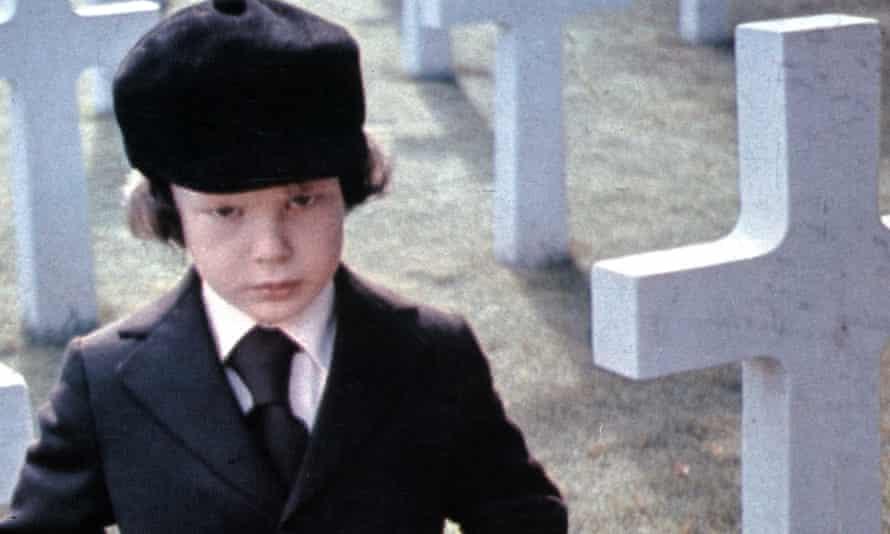 Harvey Spencer Stephens as Damien in the original film.