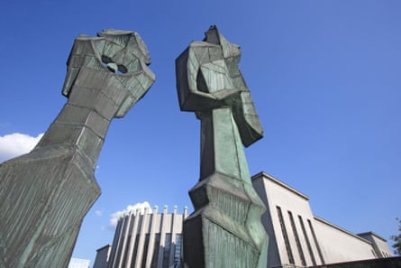 Mikalojus Konstantinas Ciurliouis art museum in Kaunas.