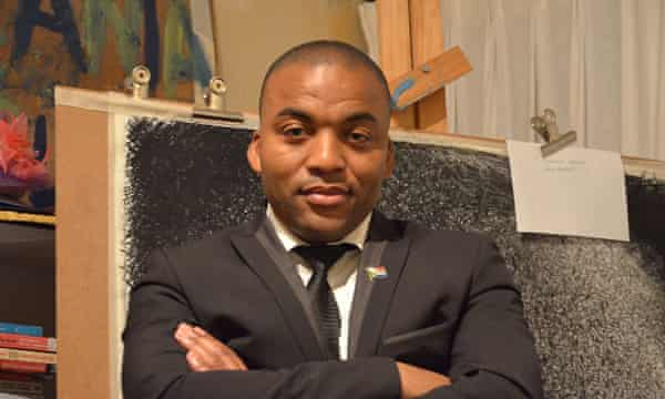 Chumani Maxwele, the student who started the Rhodes Must Fall protests