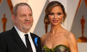 Harvey Weinstein and Georgina Chapman in 2017.