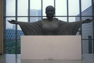 Sculpture in the Hubei Museum of Art, Wuhan.