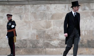 'Lifeless language': Jacob Rees-Mogg at Mrs Thatcher's funeral, St Paul's, London, 2013