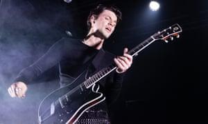 James Bay performing at Electric Brixton.