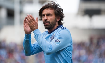 Andrea Pirlo's New York City FC are one of a number of clubs with European-style names in MLS
