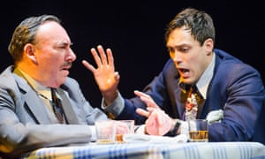 Hassell with Antony Sher in Death of a Salesman at the RSC