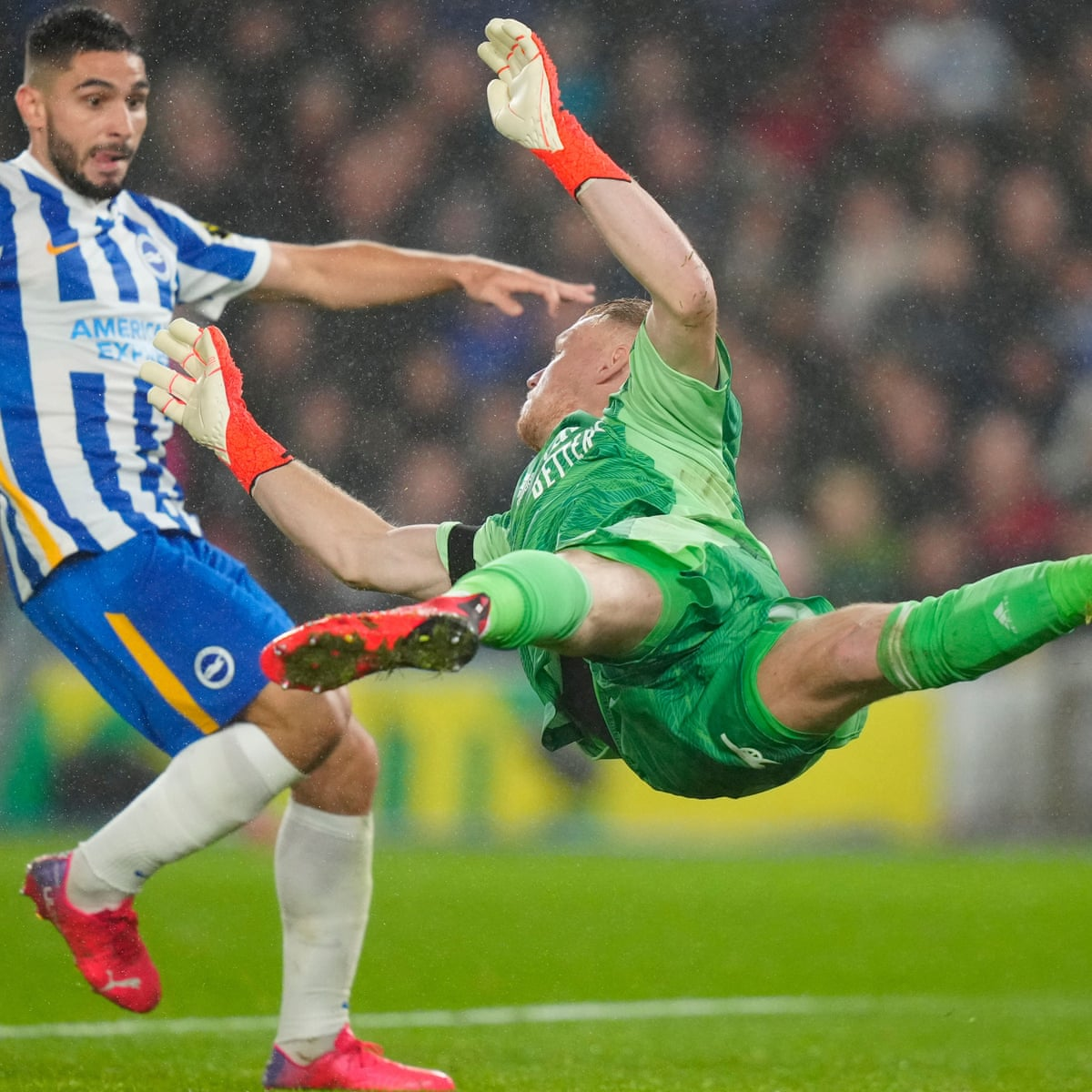 Arsenal hold off Brighton in stalemate as Mikel Arteta accepts 'point  gained'   Premier League   The Guardian