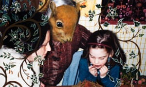 A 2009 series by Johnson uses a squirrel to represent her grandmother at times, after Orlikow once said the LSD injections made her feel like a squirrel trapped in a cage.